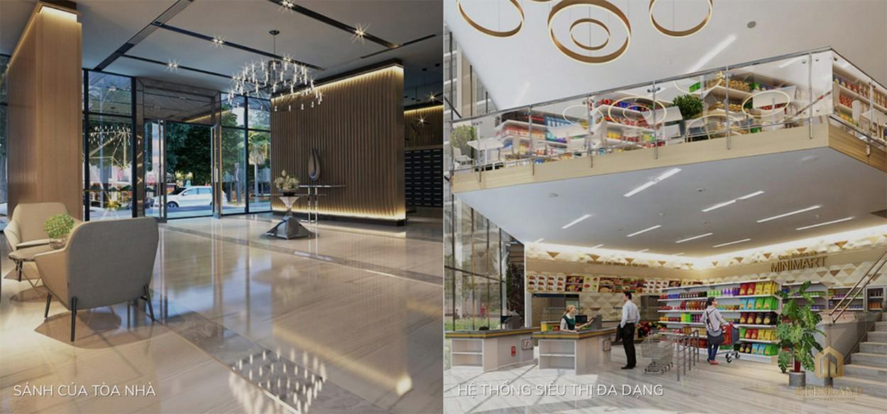 Chuỗi tiện ích nội khu đa dạng và hoàn thiện tại Golden Grand quận 2