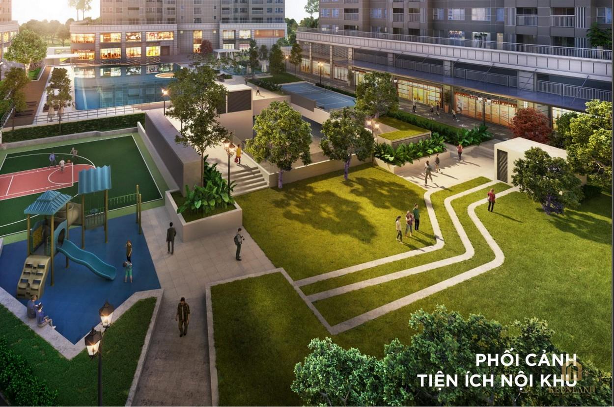 Hệ thống tiện ích nội khu được bố trí hiện đại và logic - Saigon Broadway