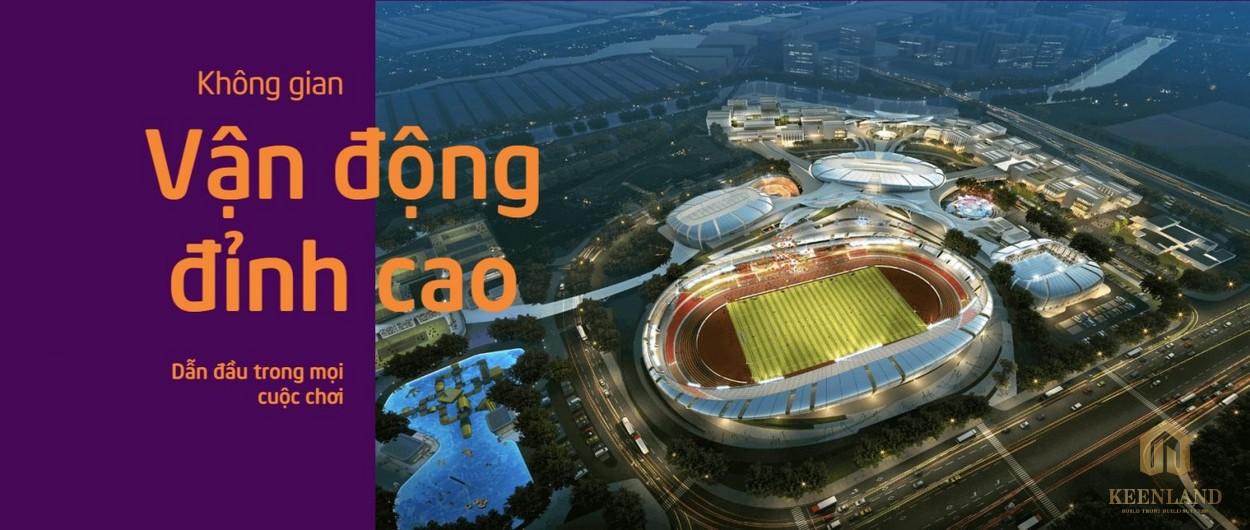 Dự án SaiGon Sports City - không gian vận động đỉnh cao