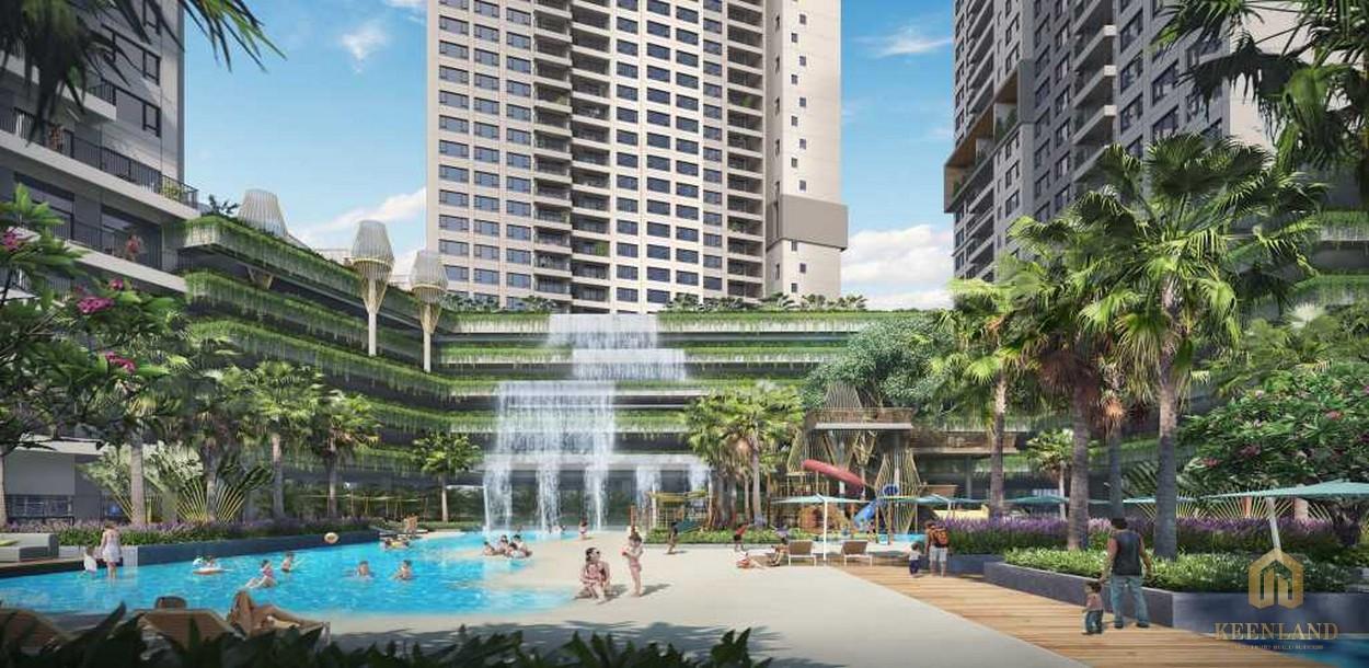Tiện ích nội khu tại siêu dự án Saigon Sports City Quận 2
