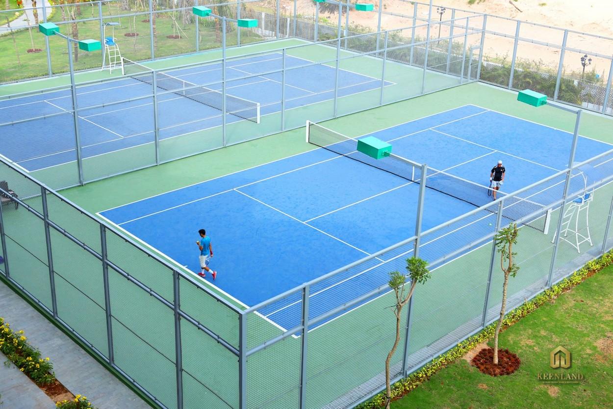Sân tennis đa năng tại siêu dự án Saigon Sports City Quận 2