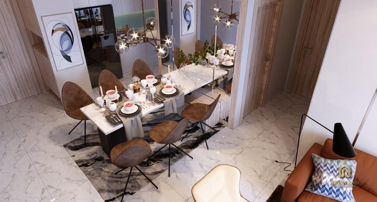Nhà bếp căn hộ New Pearl Residence