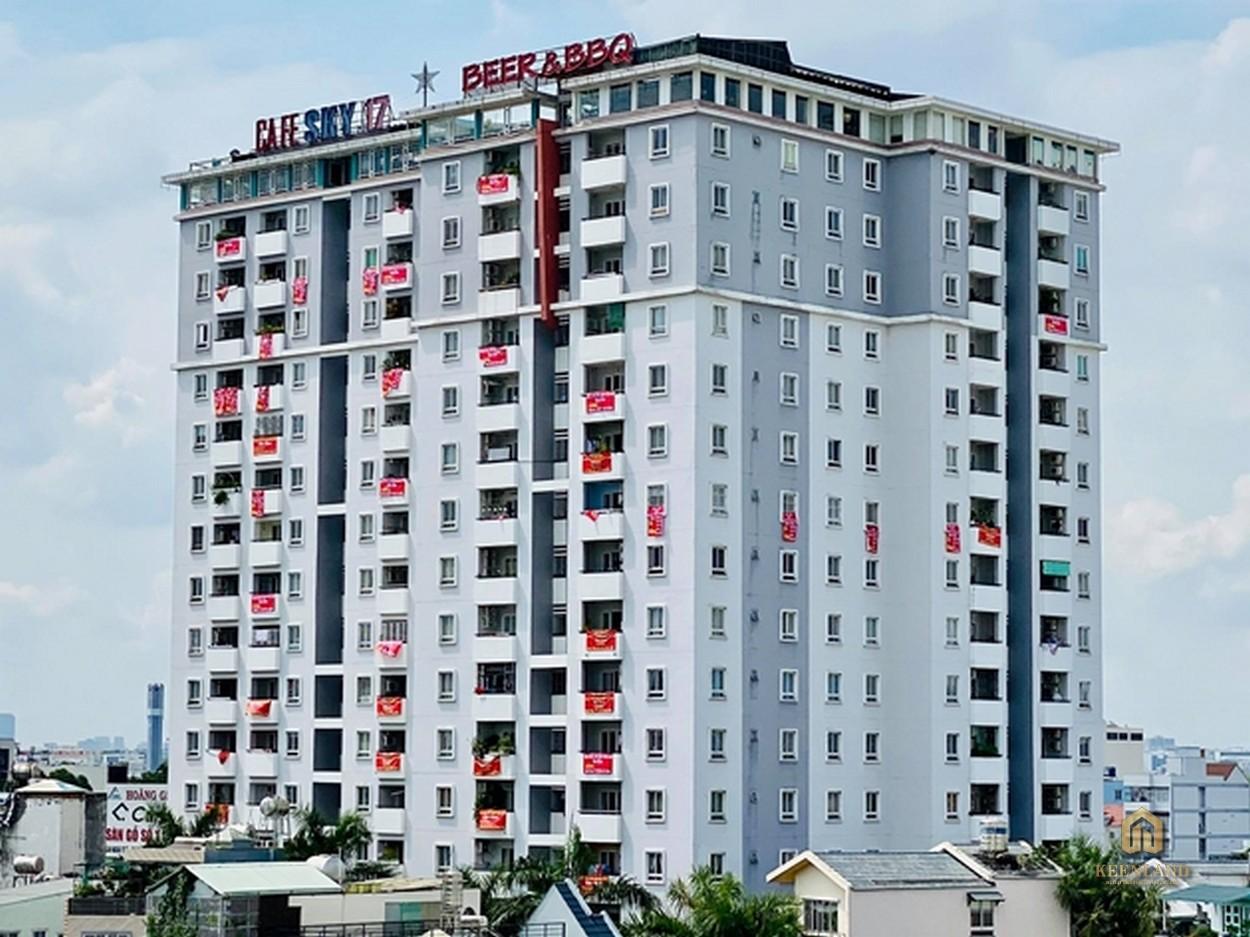 Tổng thể chung cư Kim Tâm Hải