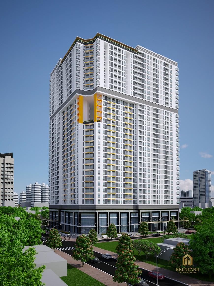 Tổng thể dự án chung cư Nguyễn Kim