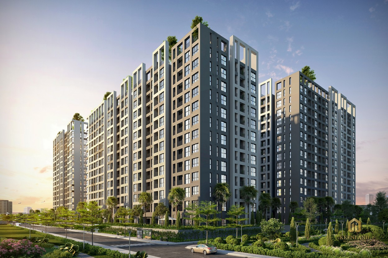 Tổng thể chung cư Cộng Hòa Garden Quận Tân Bình