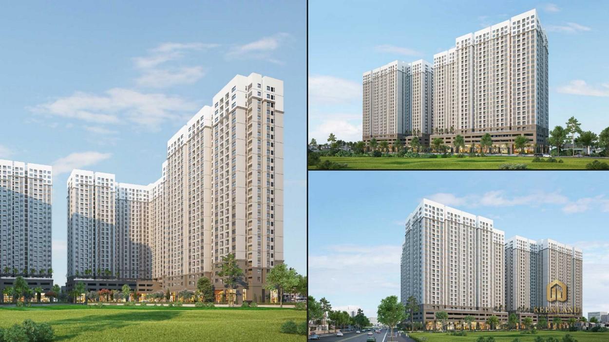 Phối cảnh tổng thể dự án AIO City Bình Tân