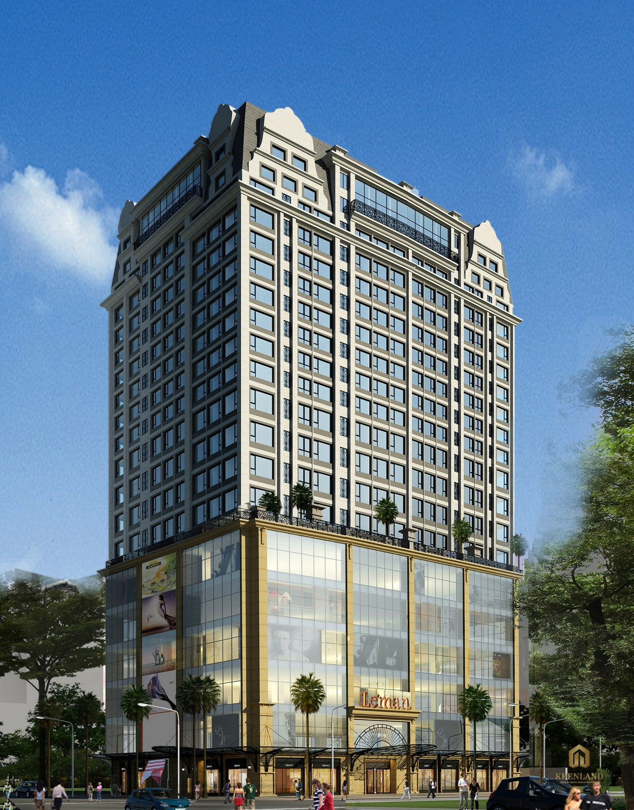 Tổng thể dự án Léman Luxury Apartment Quận 3