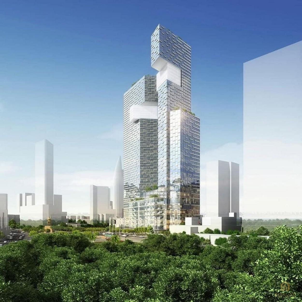 Phối cảnh dự án căn hộ One Central Quận 1