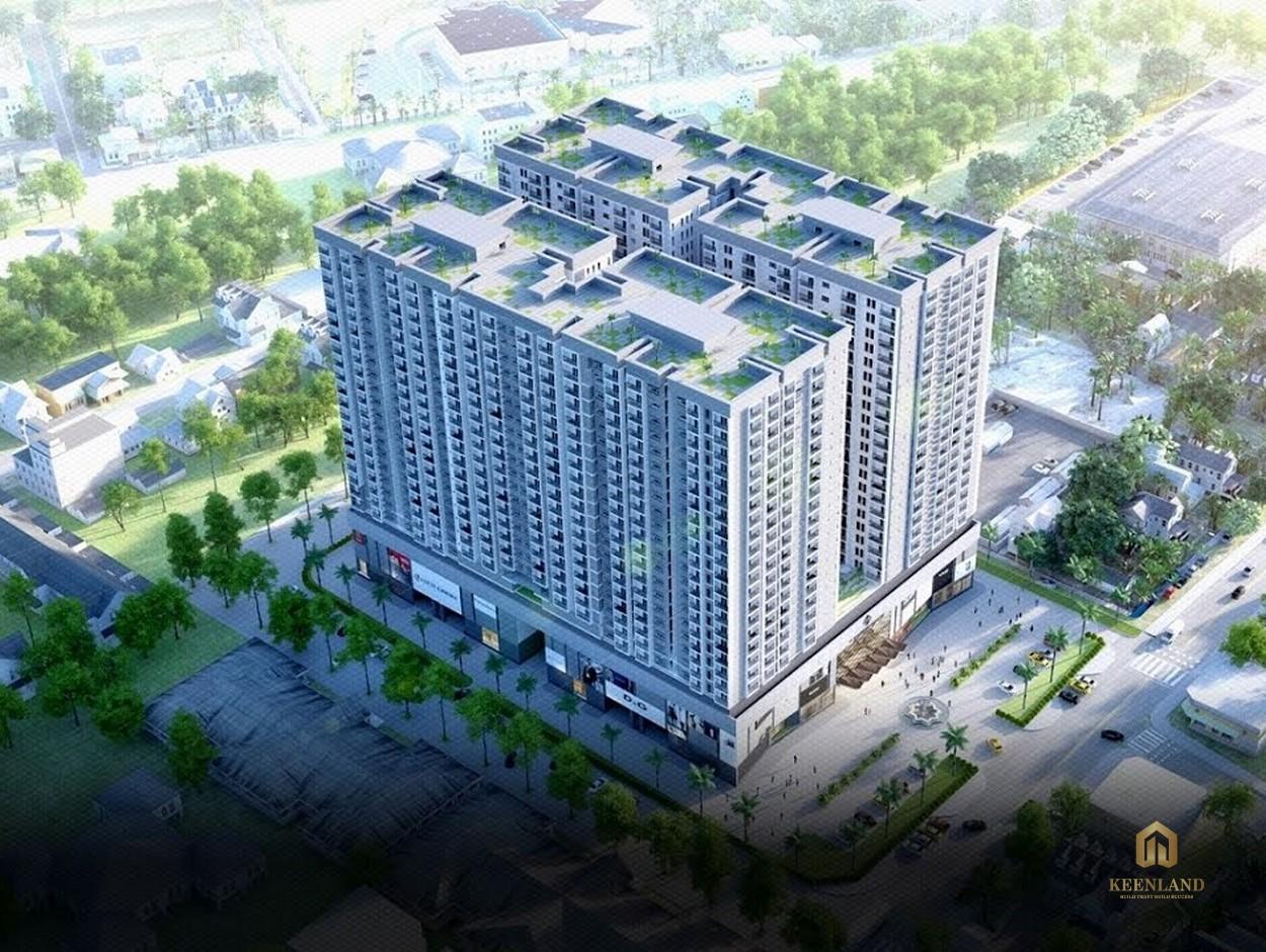 Tổng thể dự án căn hộ The Harmona từ trên cao