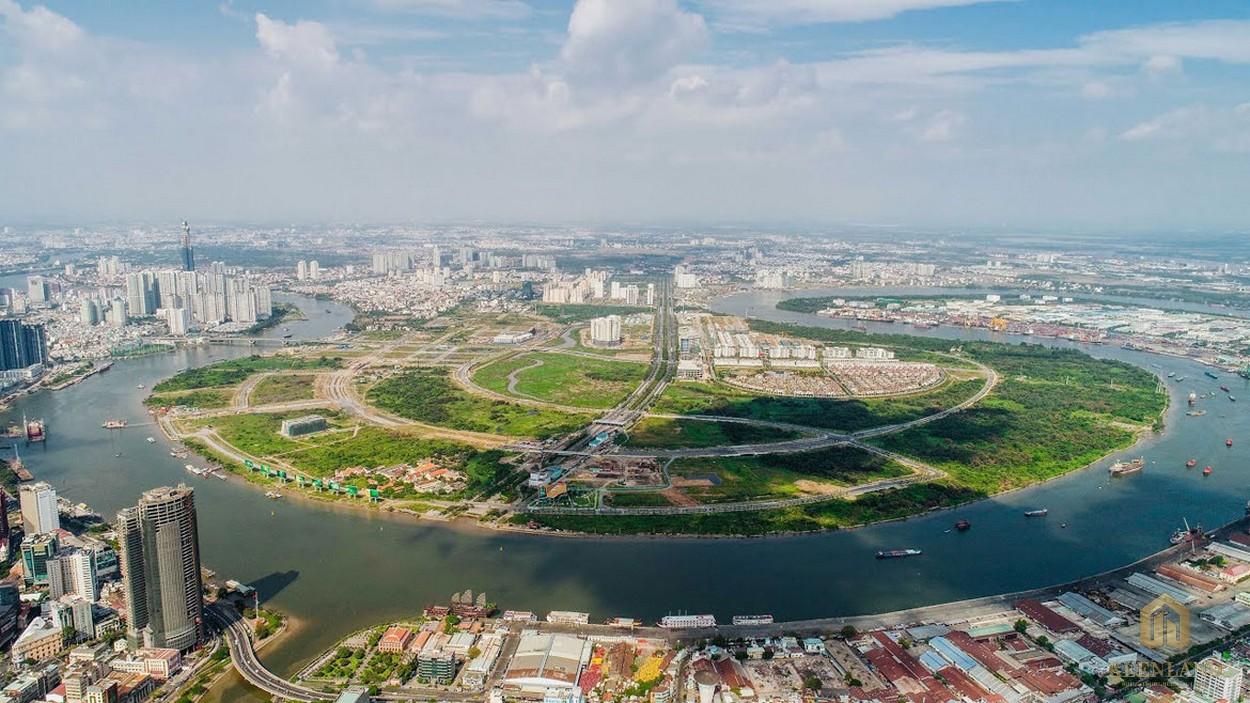 Vị trí địa chỉ dự án căn hộ chung cư Sunshine Venicia Quận 2 Đường Thủ Thiêm chủ đầu tư Sunshine Group