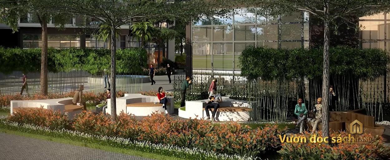 Vườn đọc sách tại Nam Phúc Le Jardin