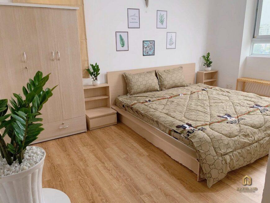 Phòng ngủ căn hộ Golden Plaza