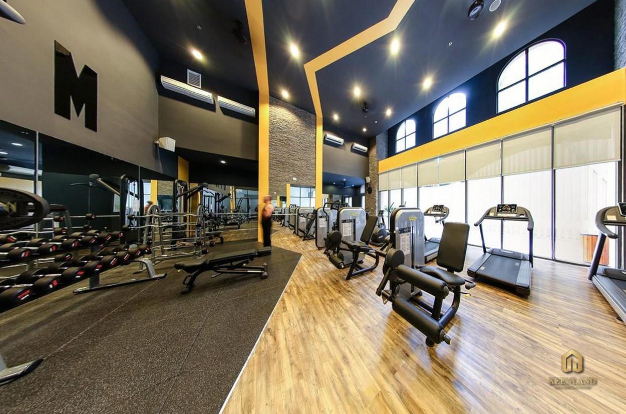 Phòng tập gym - Tiện ích nội khu Icon 56