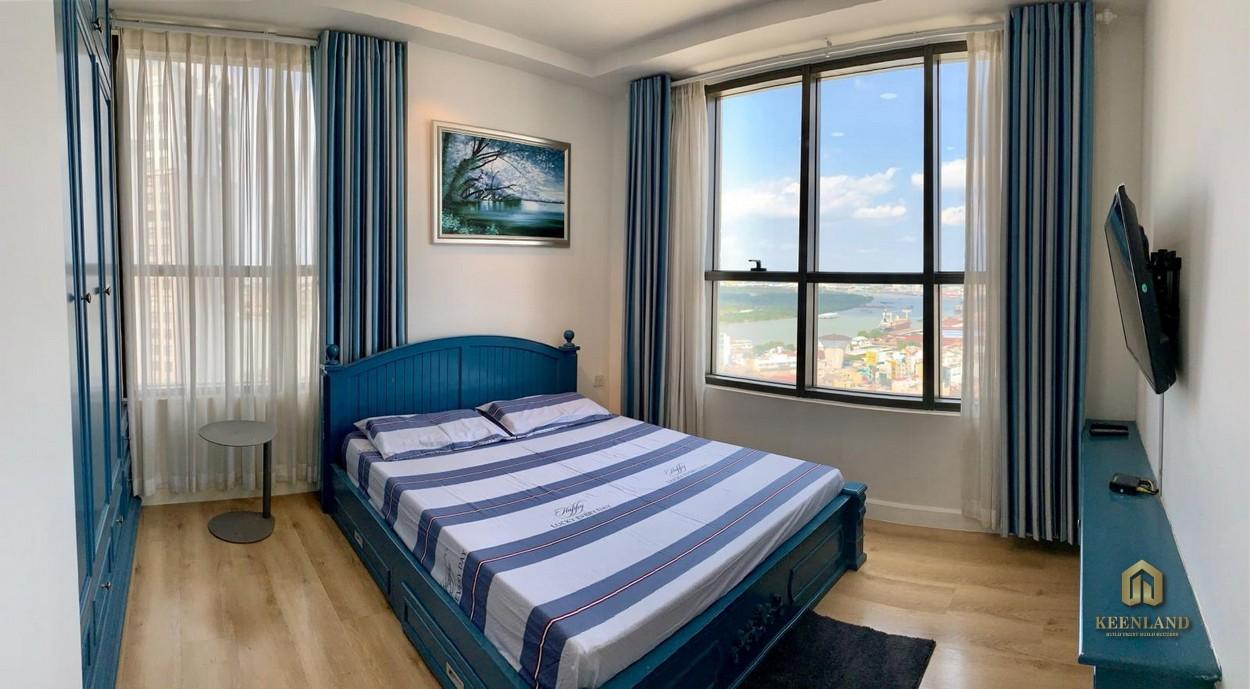 Hình thực tế phòng ngủ căn hộ Icon 56
