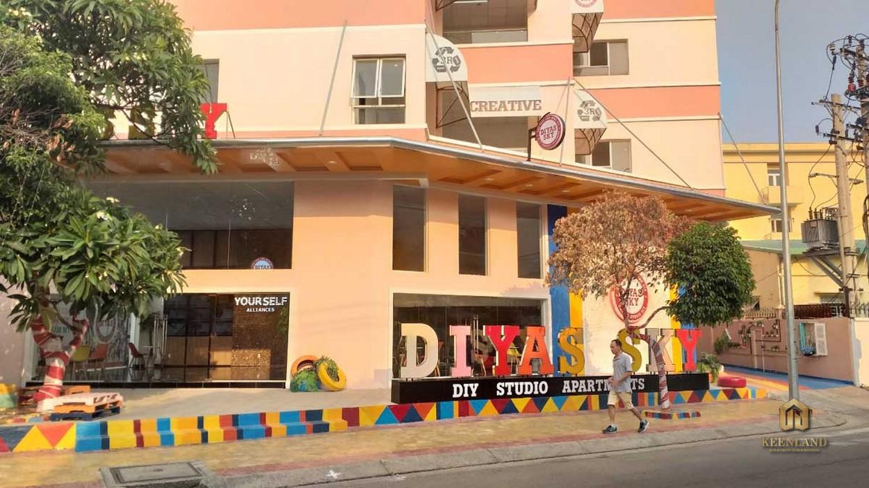 Hình ảnh thực tế dự án căn hộ Diyas Sky QuậnHình ảnh thực tế dự án căn hộ Diyas Sky Quận Tân Bình Tân Bình