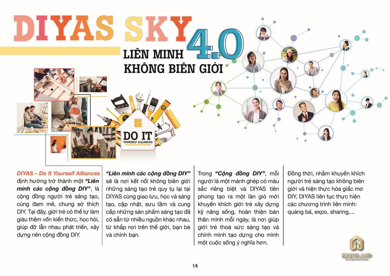 DIYAS SKY - Cộng đồng kết nối trẻ
