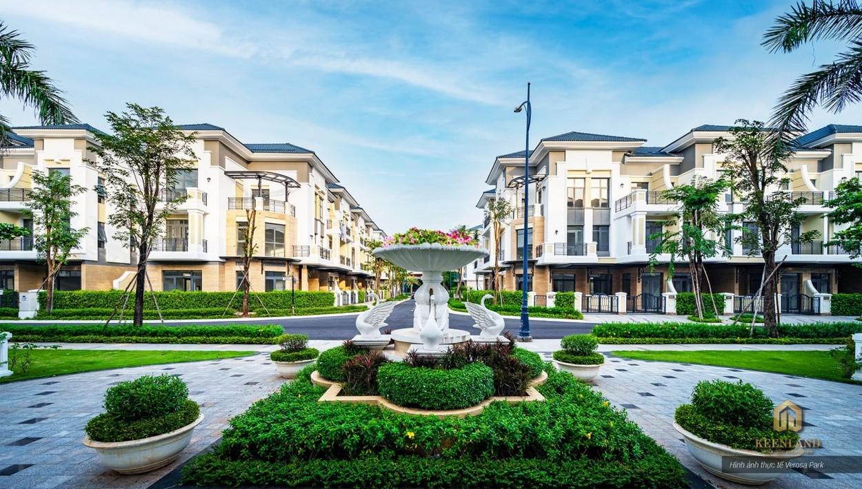 Dự án biệt thự Verosa Park Khang Điền Quận 9