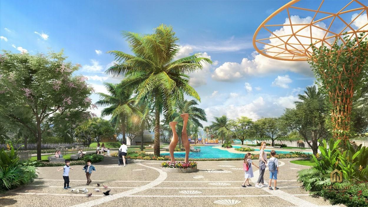 Công viên nội khu tại dự án Merosa Khang Điền Quận 9