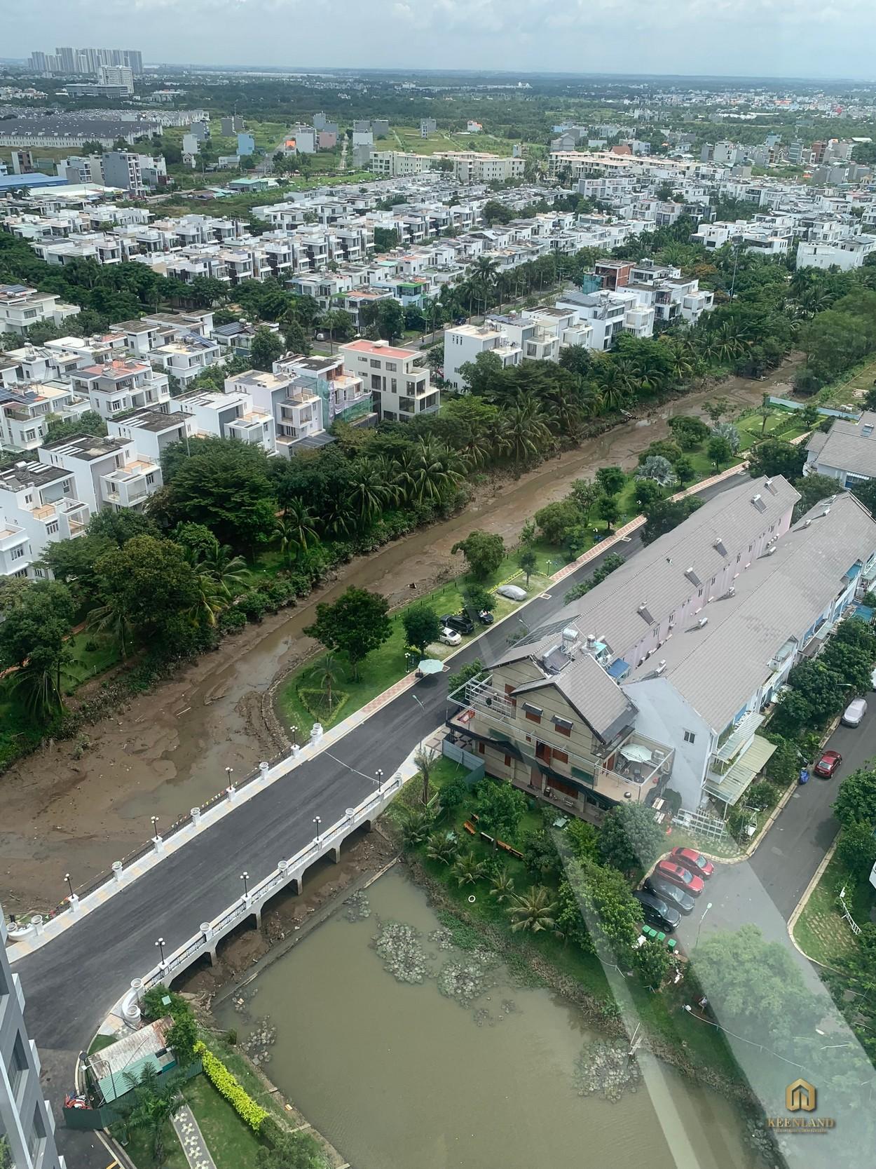 Hình ảnh từ trên cao dự án Merosa Park Quận 9