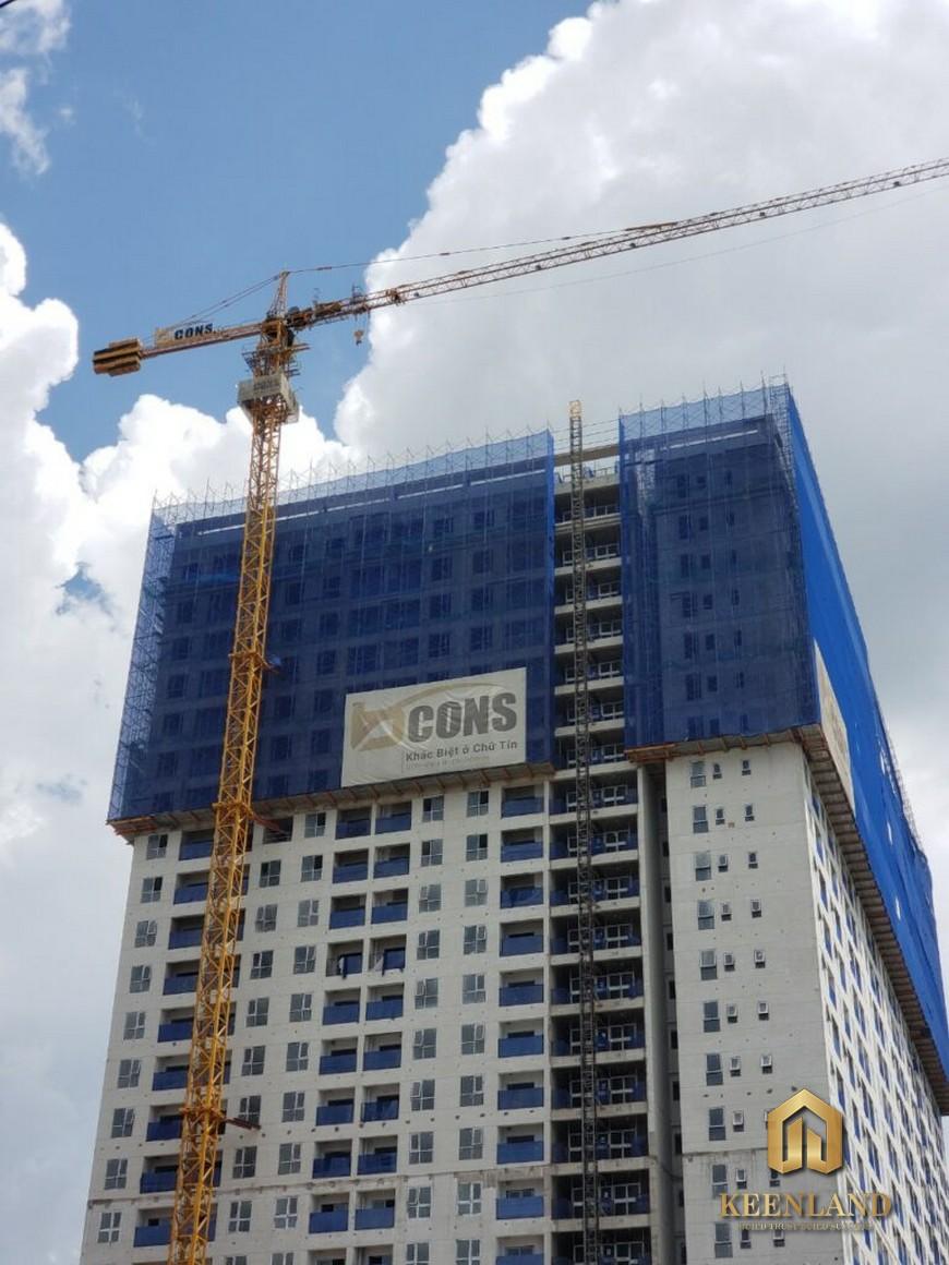 Tiến độ xây dựng Bcons Green View tháng 9 năm 2021