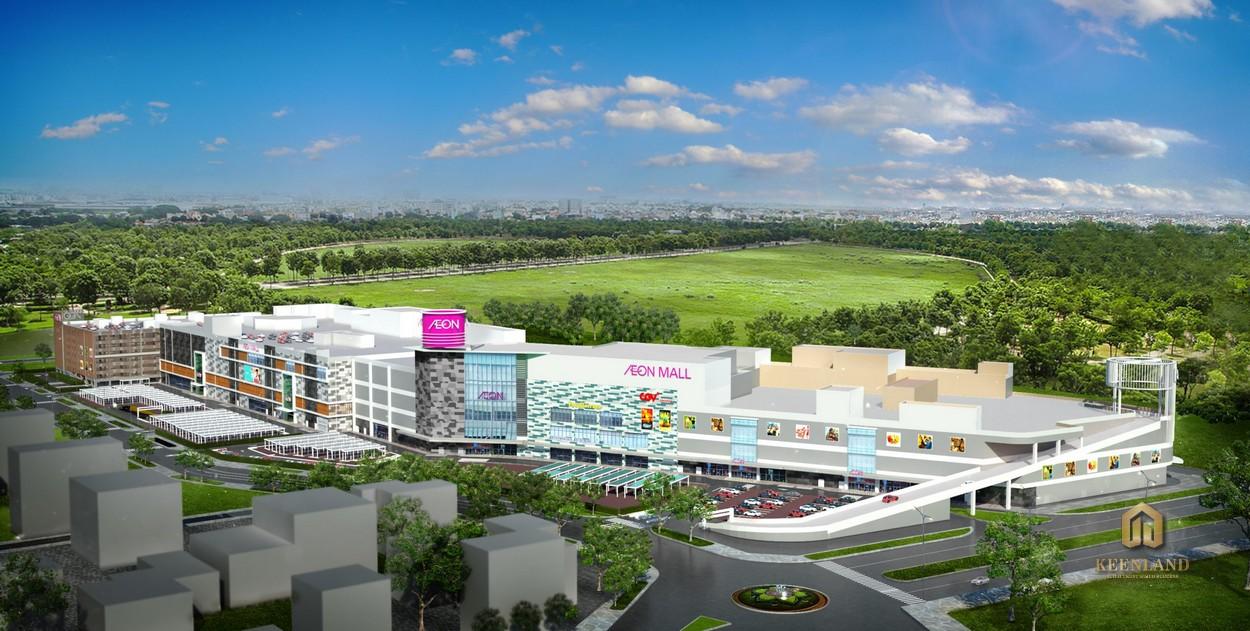 Khu Trung Tâm Thương Mại Aeon Mall tại căn hộ Celadon City Quận Tân Phú
