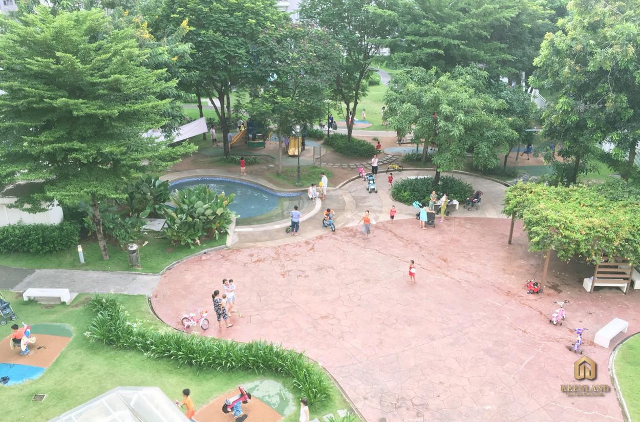 Công viên căn hộ Ruby tại dự án Celadon City