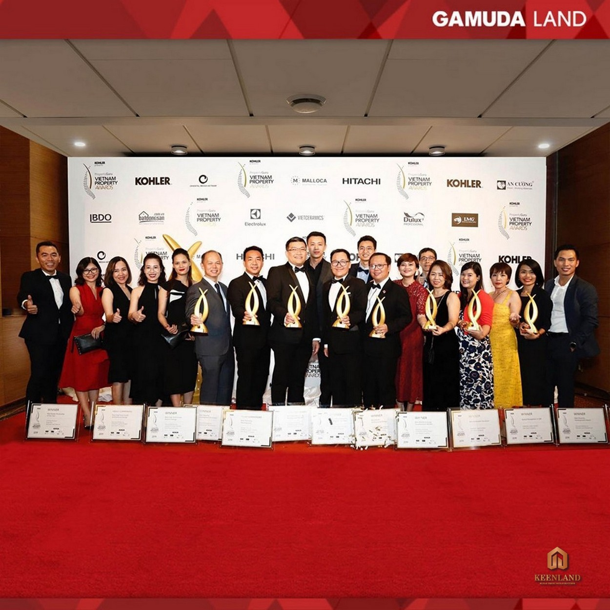 """Gamuda Land Vietnam nhận giải thưởng """"Chủ đầu tư xuất sắc"""" tại Property Guru Vietnam Awards 2020"""