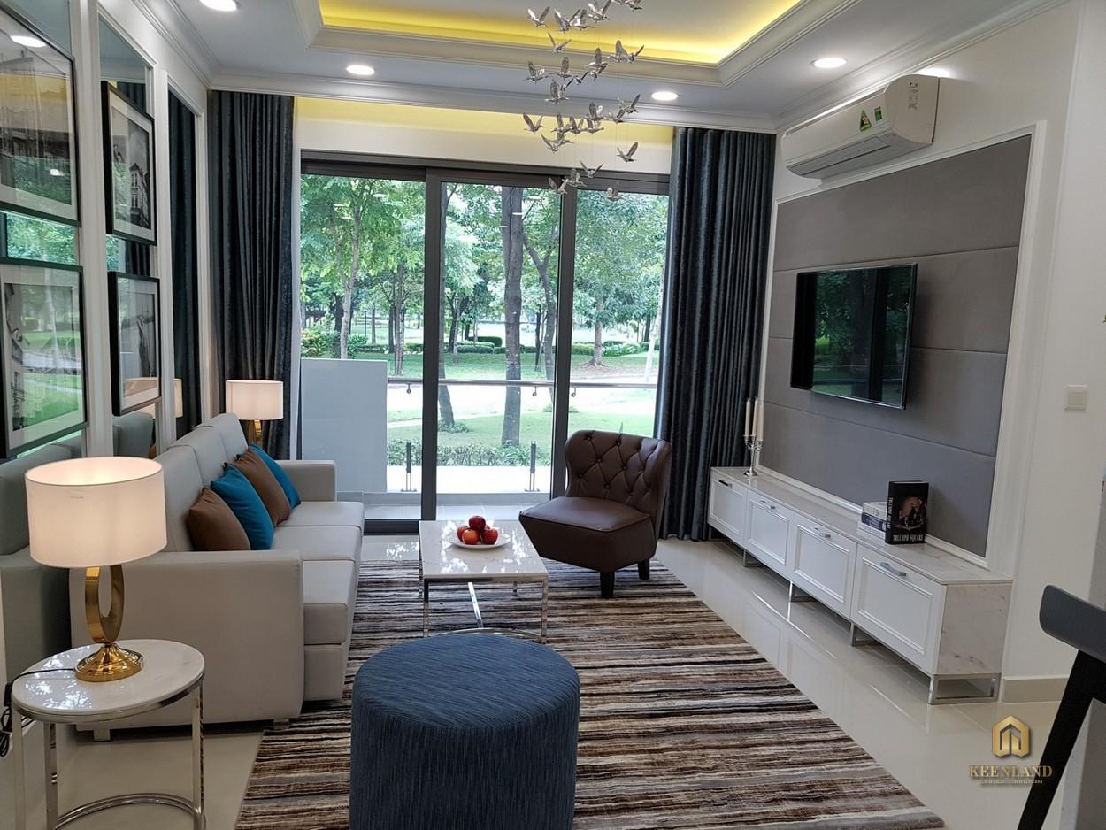 Thiết kế phòng khách căn hộ Celadon City Tân Phú