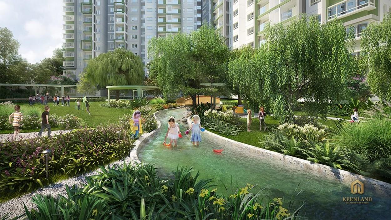 Khu Công Viên Sinh Thái tại căn hộ Celadon City Quận Tân Phú
