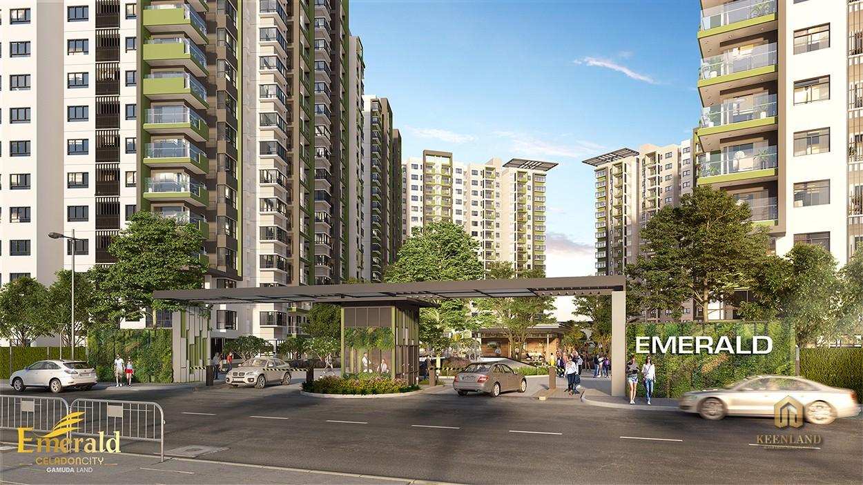 Phối cảnh dự án Celadon City Quận Tân Phú