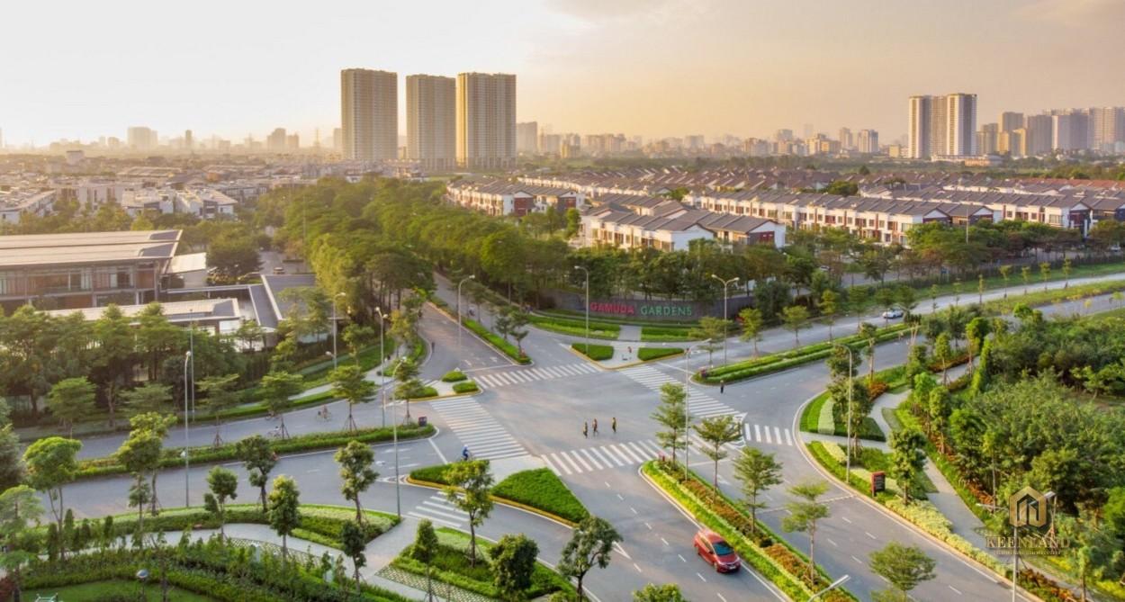 Phối cảnh khu đô thị Gamuda Gardens