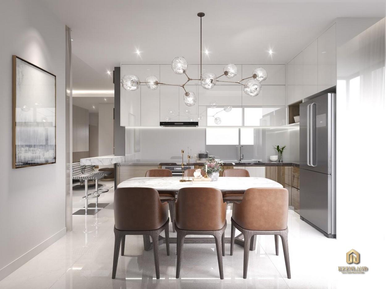 Thiết kế nhà ăn căn hộ Celadon City