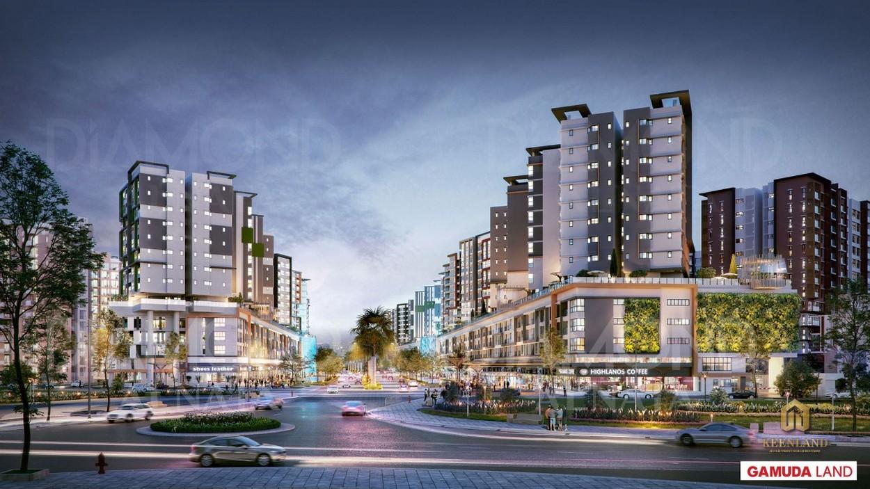 Tổng thể dự án Celadon City
