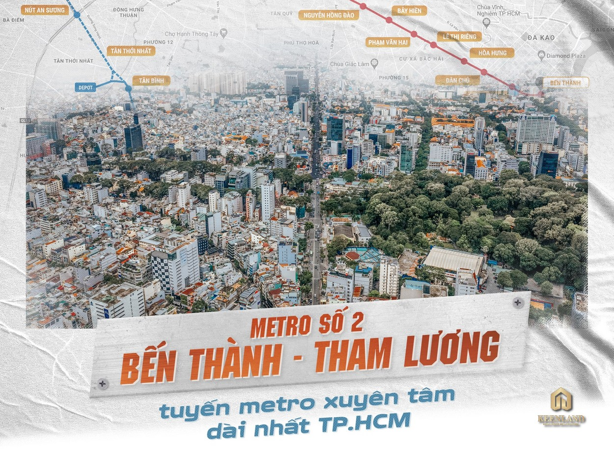 Tuyến Metro số 2 Tham Lương – Bến Thành